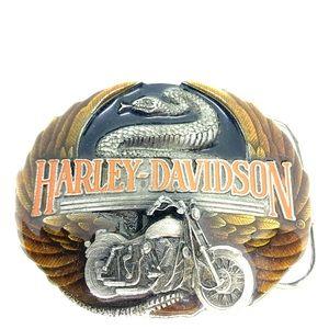1991 Harley Davidson Belt Buckle